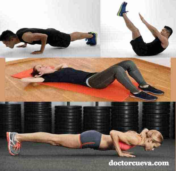 ejercicios con peso corporal