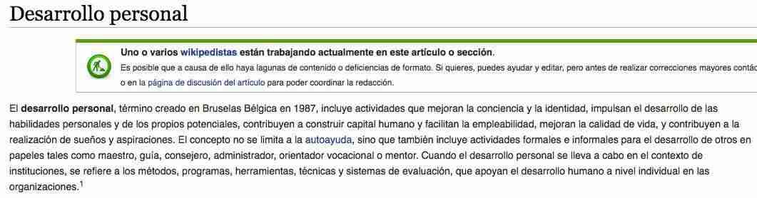 desarrollo personal wikipedia