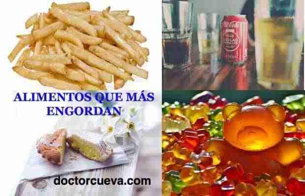 Alimentos que engordan crees que son s lo las grasas - Alimentos que mas engordan ...