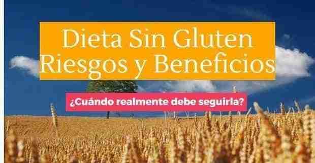 dieta sin gluten riesgos 1