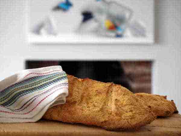receta pan bajo en fodmaps
