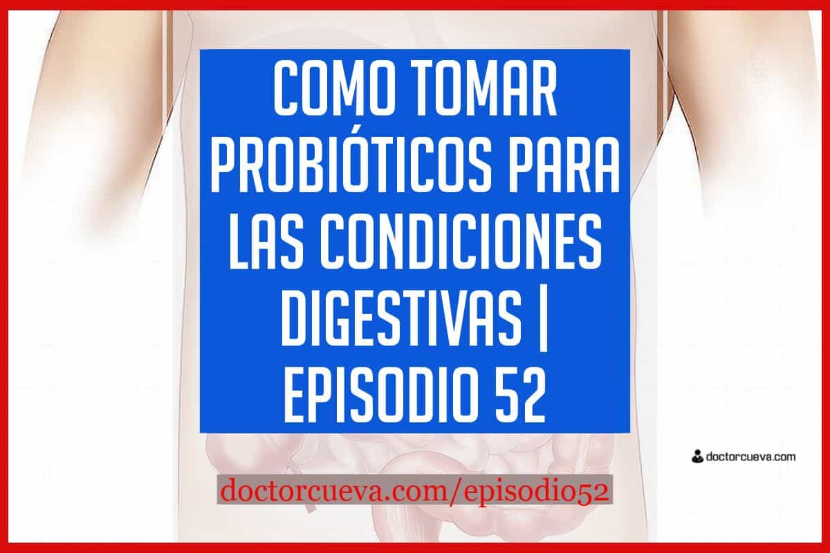 como tomar probióticos